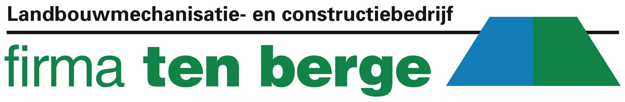 Firma Ten Berge Landbouwmechanisatie en Constructiewerken Huizinge Groningen